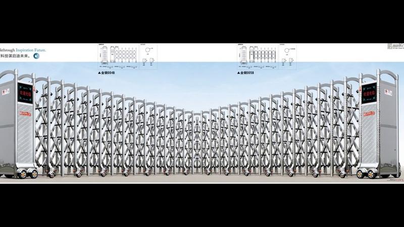 Cổng xếp tự động -Quảng đông trung quốc