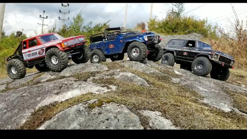 New Crawler Gmade Bom gso2 / Trx4 Bronco plus MST