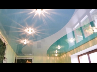 #Полиэфирные #натяжные #потолки - особенности и характеристики