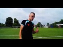 Обучение финтам в футболе для начинающих Остановка Коленом