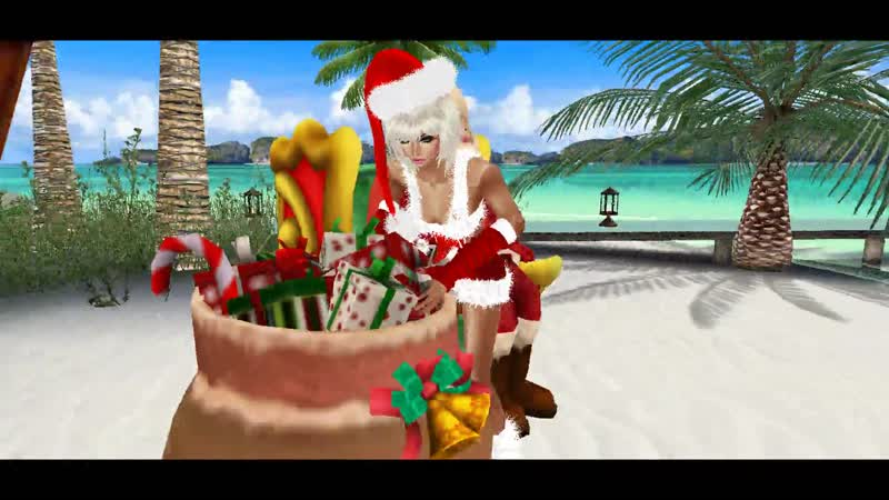 IMVU -18 Game. - с Новым Годом! на Острове HD - Full 1080p.
