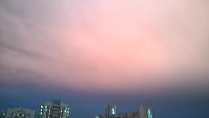 Закат после дождичка в понедельник