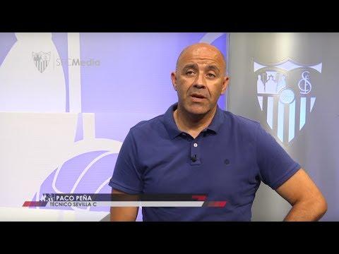 Paco Peña El objetivo es formar jugadores para el primer equipo