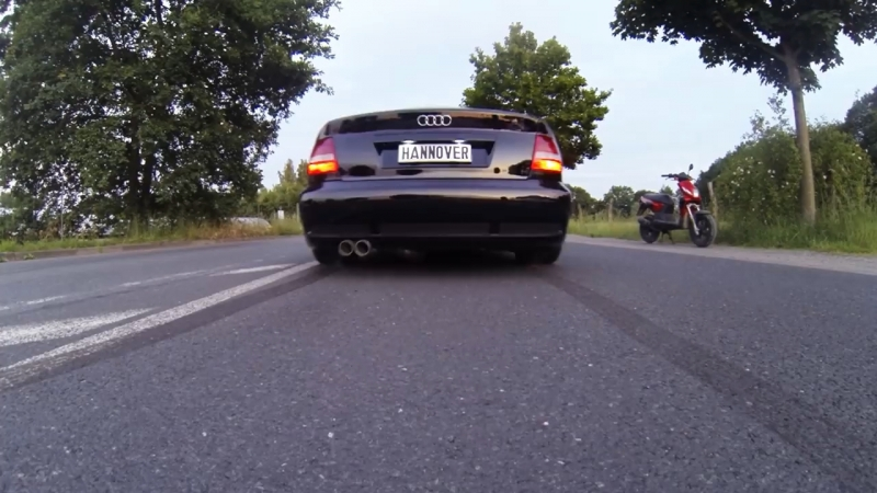 Hannover Hardcore RS4 Limo 0-100 Kmh 2,8s Launch Control Tests