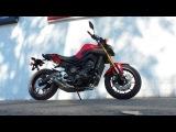 2014 Yamaha FZ-09 Review and walk around