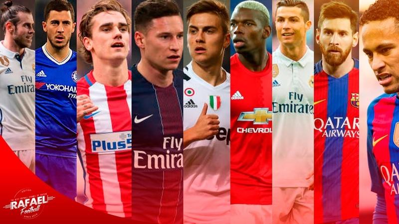 Best Football Skills Mix 2017 ● Messi ● Neymar ● Ronaldo ● Bale ● Hazard ● Dybala ● Draxler ● HD