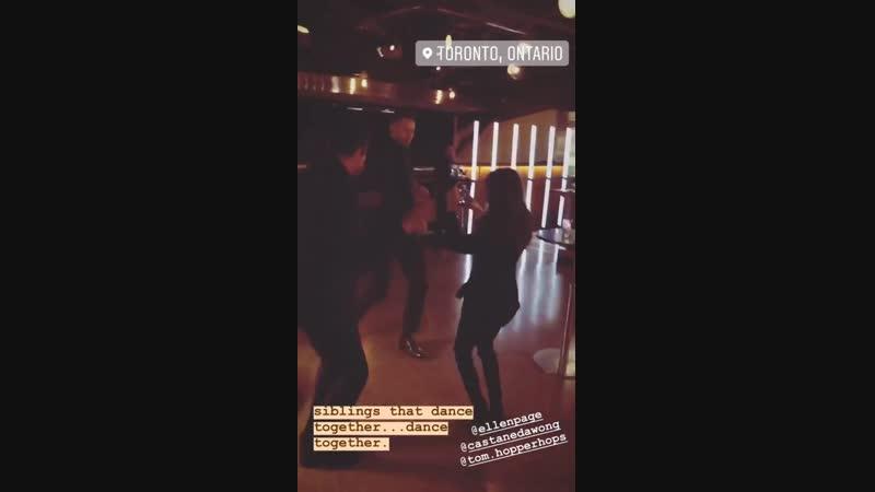 Emmy Raver Lampman Instagram Story Feb 14