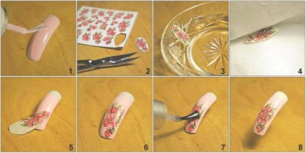 наращивания ногти