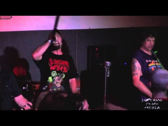D.R.I. Live at The Dive Bar in Las Vegas, NV 10/24/14