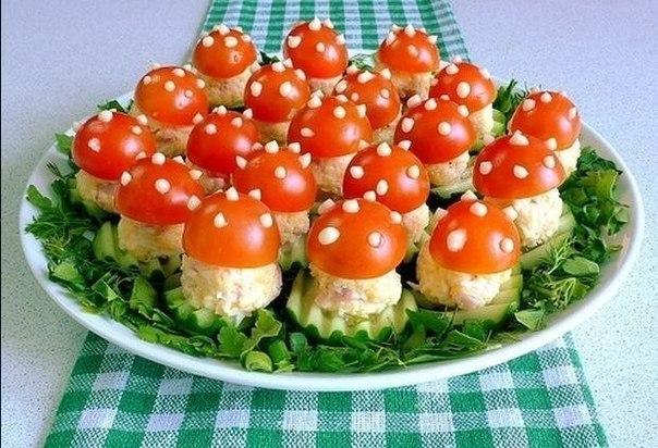 Вкусные салаты на праздничный стол с фото