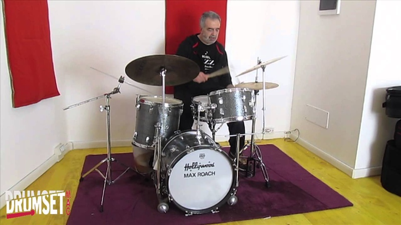 Meazzi Hollywood Max Roach Massimo Carrano Drum Solo