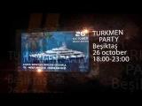 Turkmen party 26.10.2014 Istanbul Beşiktaş [full HD]