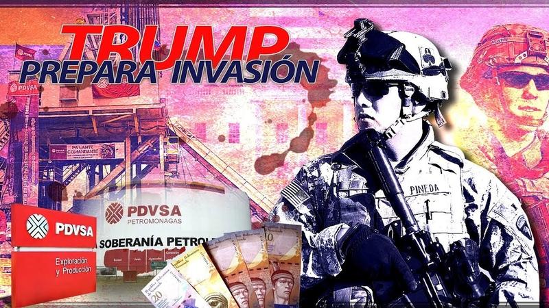 Detrás de la Razón - Trump prepara invasión, ¿se apoderará del petróleo?