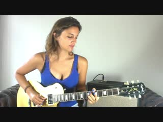Laura Cox - Money For Nothing intro - Dire Straits cover