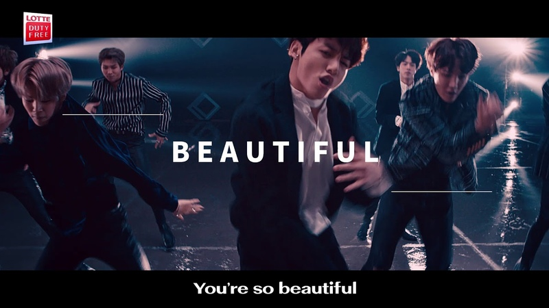 [KOR] LOTTE DUTY FREE x BTS M/V You're so Beautiful