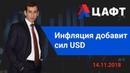 Инфляция добавит сил USD