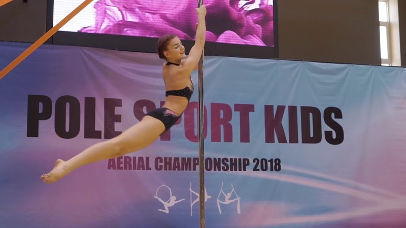 Чемпионка России спорт Pole sport kids Жанна Тихомирова PRO 10-13 YEARS OLD
