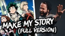 Make My Story (FULL version) - MY HERO ACADEMIA OP. 5 (English opening cover by Jonathan Young)