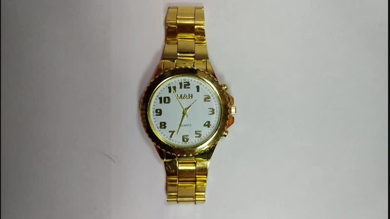 золотые часы MH 1