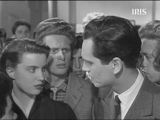 СТАРШИЕ КЛАССЫ / Старшеклассники (1954) - мелодрама, комедия. Лучано Эммер 1080p]