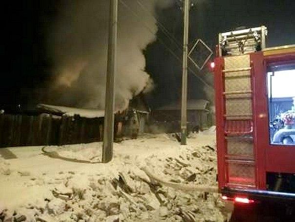 На пожаре в Усть-Илимске погибла 80-летняя пенсионерка