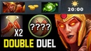 RUSH REFRESHER Legion Double Duel Crazy Damage Gameplay by Top EU Rank Immortal 7.20 Dota 2