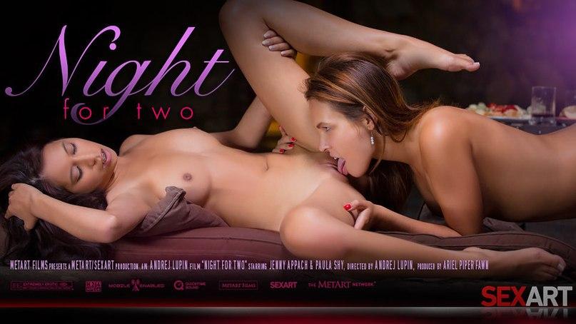 Ночь для лесбийского порно Jenny Appach & Paula Shy
