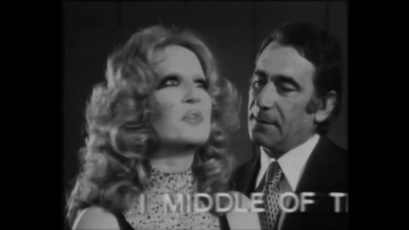 ♫ Alberto Lupo e Mina Mazzini ♪ Parole Parole (1972) ♫
