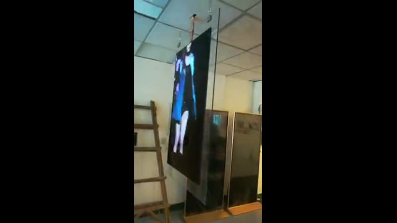 OLED Wallpaper in-glass Digital Signage Заказ Робот Мода robotmoda www.robotmoda.ru