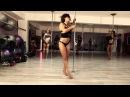 Sexy work de Doris Arnold chez Pole Dance Réunion