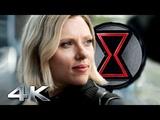 BLACK WIDOW 4K Teaser Trailer Scarlett Johansson, Jeremy Renner