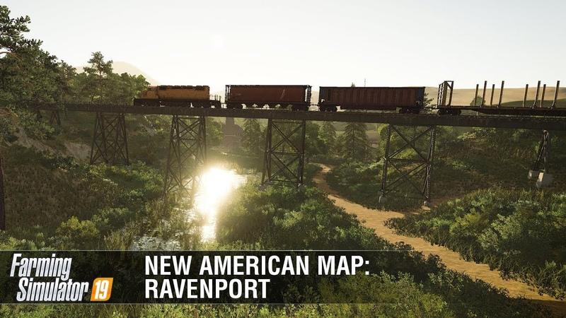 Farming Simulator 19: New American Map Ravenport Featurette