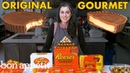 Pastry Chef Attempts to Make Gourmet Reese's | Gourmet Makes | Bon Appétit