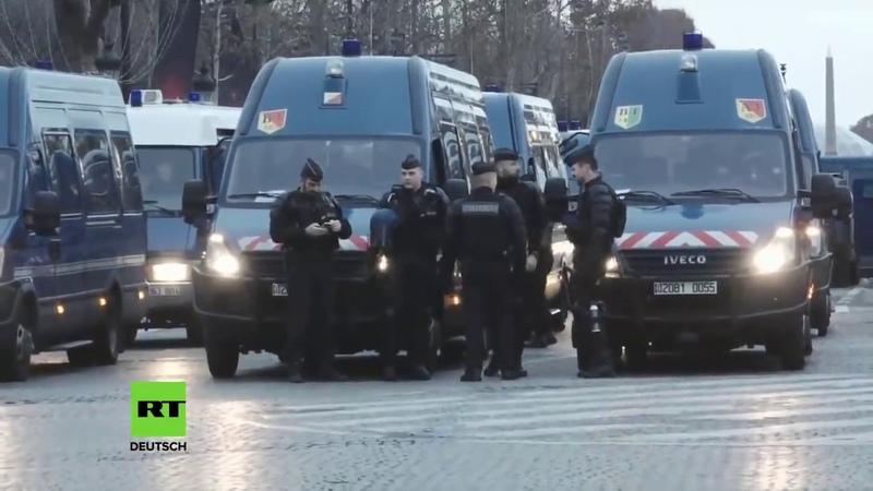 LIVE Protest der Gelbwesten in Paris geht weiter – Kamera 2