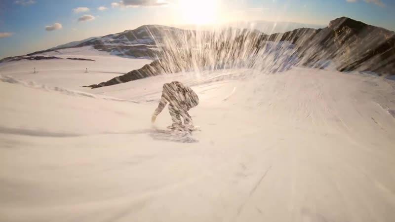 GoPro Sunset Snowboarding with Sage Kotsenburg Halldór Helgason and Sven Thorgren in