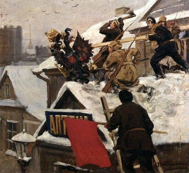 Революция и гражданская война глазами художника S9jFO-poHAY