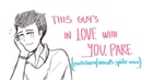 PARKSBORN MSM This Guy's In Love With You Pare Animatic Storyboard
