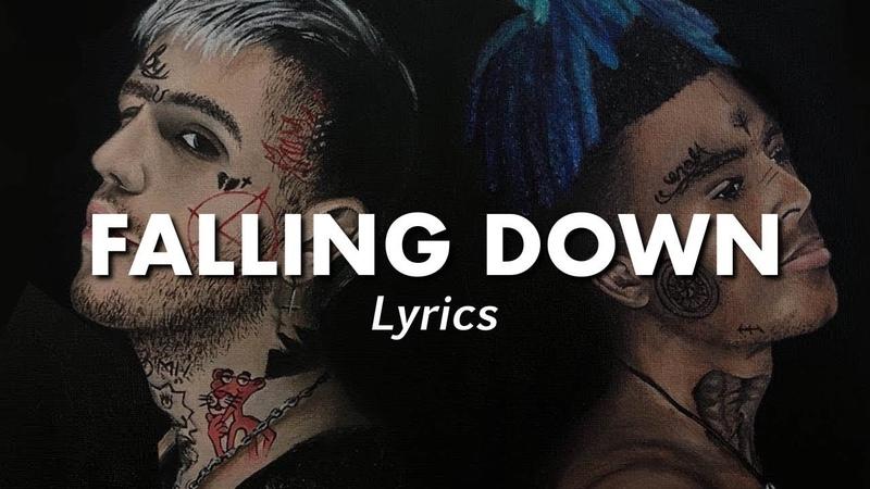 LiL Peep XXXTentacion - Falling Down (Lyrics)   (Cover art by Rachel Gold)   MF♫   vk.com/muzofaka