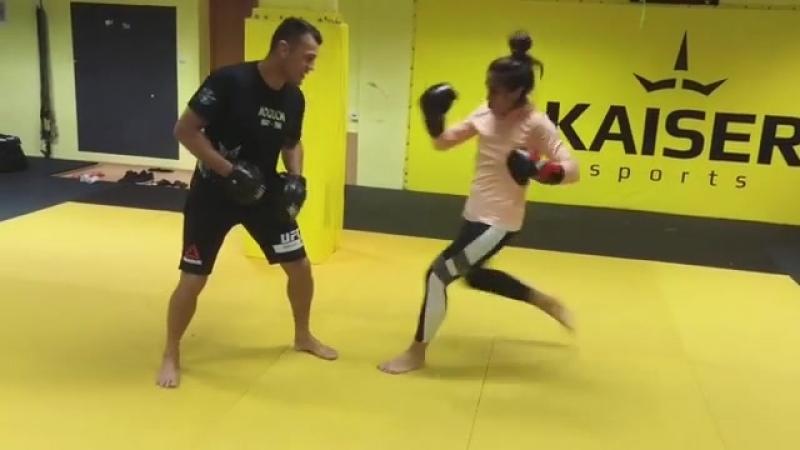 Joanna jedrzejczyk training 19 09 2018