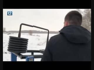 Хулиганы сломали тренажёр на площадке Александра Шлеменко