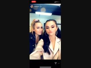 2019  Публикация Терезы Мингус в Instagram Stories.