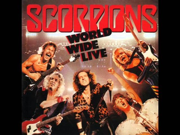 Scorpions World Wide Live 85 original album