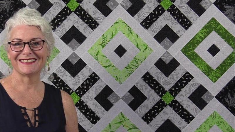 A Clean, Fresh, Modern, Free Quilt