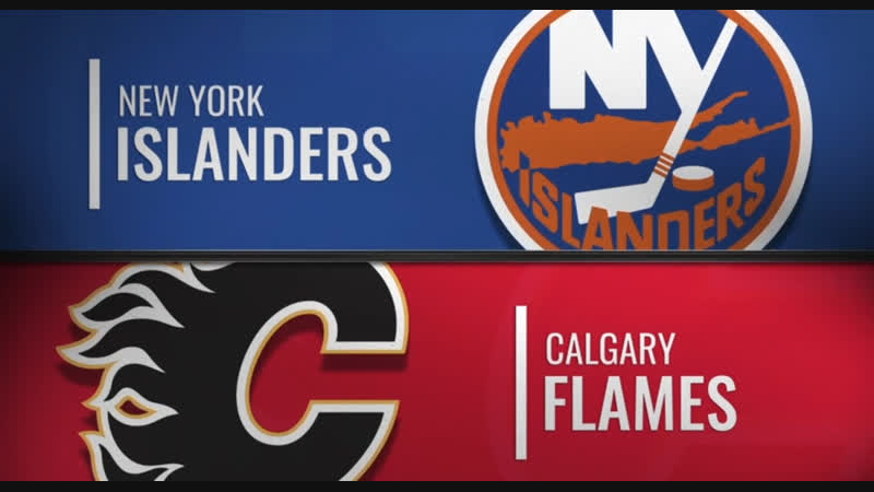 NHL Regular Season 2018-19 New York Islanders-Calgary Flames