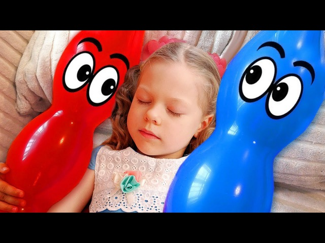Finger Family Learn Colors with Bad Baby Balloons, Сrying Baby Songs Nursery Rhymes for Kids