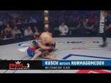 Pavel Kusch defeats Abubakar Nurmagomedov via Submission at 1:23 of Round 2