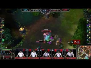 Sounds of the Game & Mini Highlights Edward Gaming vs Samsung White | LoL S4 World Championship 2014
