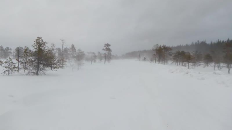 зимник на Перт озеро