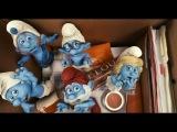 Смурфики смотреть Полет на аисте новая серия игра как мультик для детей The Smurfs