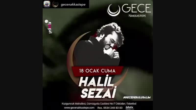 Halil Sezai_Konserler_18 Ocak 2019